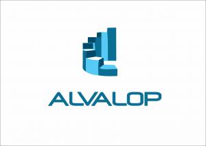 logo alvalop vertical